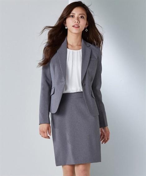 嬉しい選べる丈展開!洗える定番スカートスーツ(丈55cm) ...