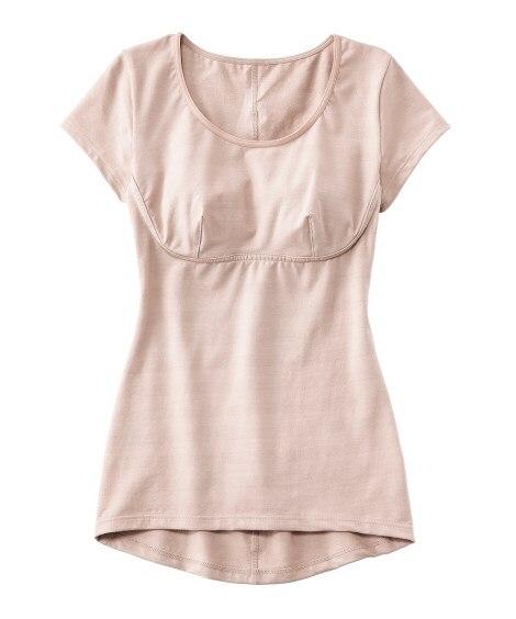 姿勢きれい イーストレッチインナー(綿混 脇汗取りパッド付フレンチ袖タイプ) (フレンチ袖・半袖・五分袖インナー)Underwear