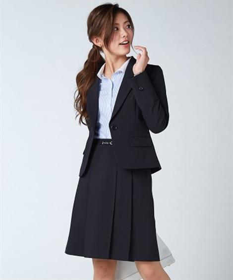 大人気!美人度UP洗えるスカートスーツ 【レディース】通勤・...
