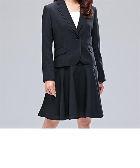 〈小さいサイズ〉大人気がプチで登場!フレアースカートスーツ ...