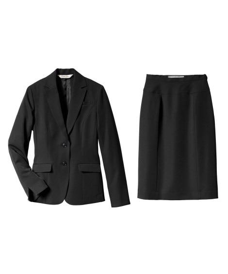 タテヨコストレッチスーツ(ジャケット+スカート) (大きいサ...