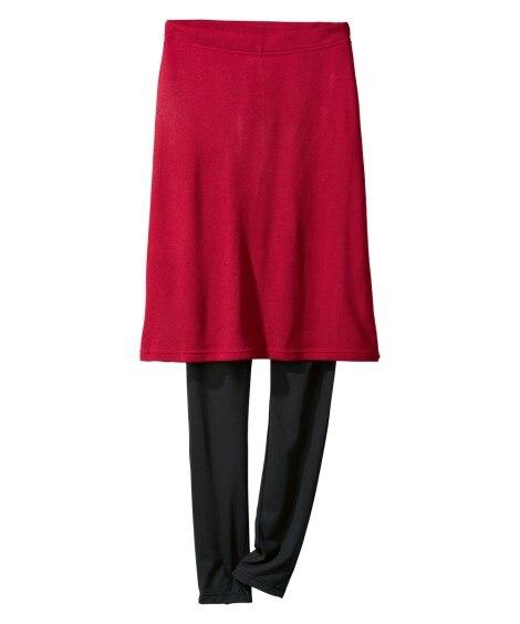 レギンス付デザインスカート (大きいサイズレディース)スカー...
