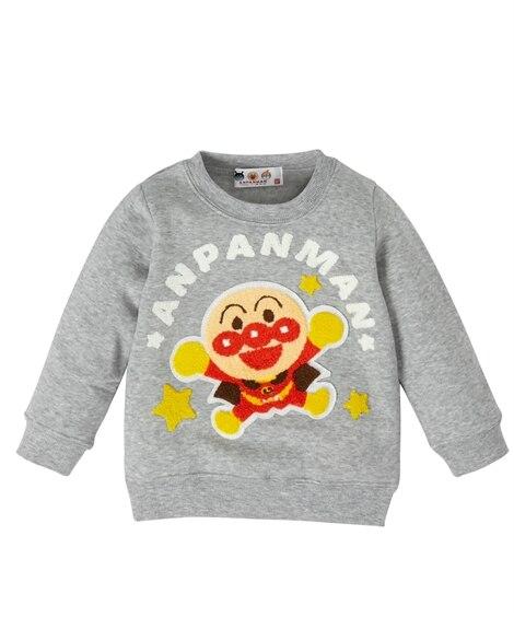 【アンパンマン】サガラ刺しゅうトレーナー(男の子 女の子 ベビー服 子供服) (トレーナー・スウェット)Kids' Sweatshirts, ?衣, 衛衣