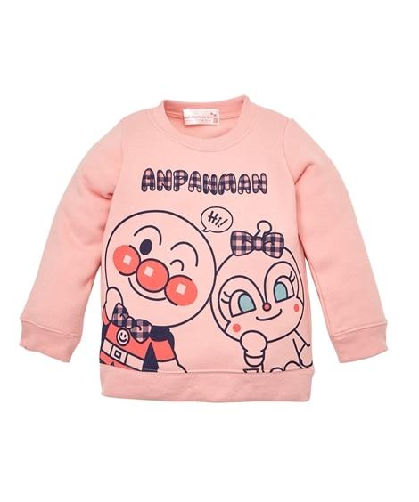 【アンパンマン】裏起毛トレーナー(女の子 ベビー服 子供服)...
