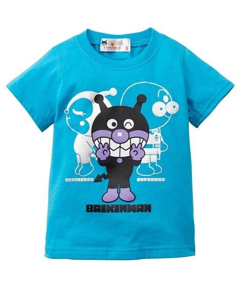【アンパンマン】プリントTシャツ(男の子 女の子 ベビー服 子供服) (Tシャツ・カットソー)Kids' T-shirts