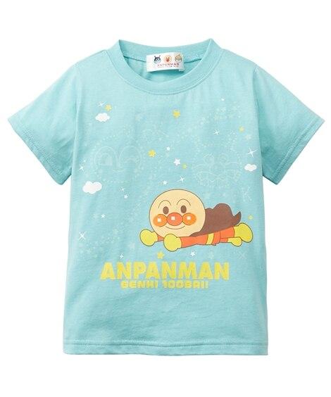 【アンパンマン】蓄光プリントTシャツ(男の子 女の子 ベビー服 子供服) (Tシャツ・カットソー)Kids' T-shirts