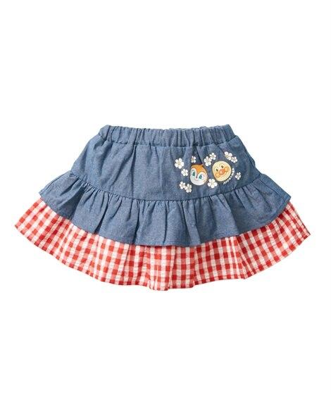 【アンパンマン】スカパン(女の子 ベビー服 子供服) (スカート付パンツ) Girls Skirts