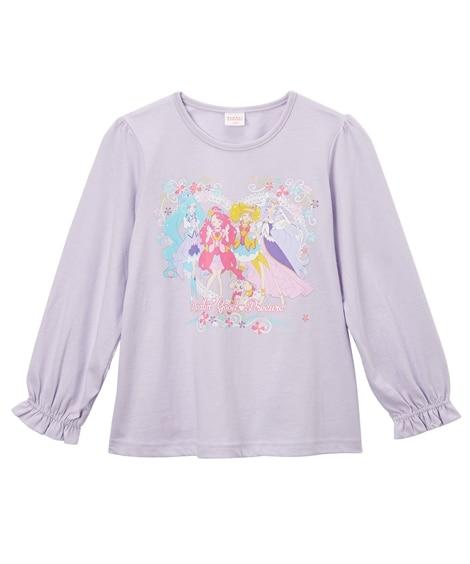 【ヒーリングっど?プリキュア】おもちゃ付き長袖Tシャツ(女の子 子供服) (Tシャツ・カットソー)Kids' T-shirts