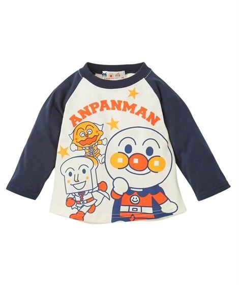 【アンパンマン】長袖Tシャツ(男の子 女の子 ベビー服 子供服) (Tシャツ・カットソー)Kids' T-shirts
