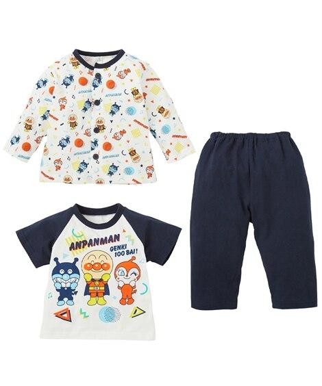 【アンパンマン】天竺2トップスパジャマ(男の子 女の子 ベビー服 子供服) キッズパジャマ, Kids' Pajamas