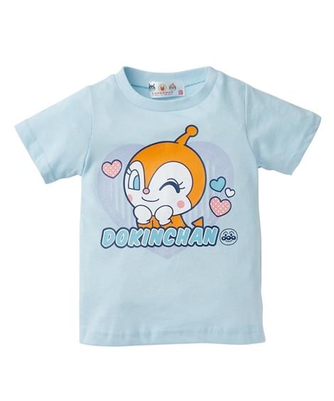 【アンパンマン】半袖Tシャツ(女の子 ベビー服 子供服) (Tシャツ・カットソー)Kids' T-shirts