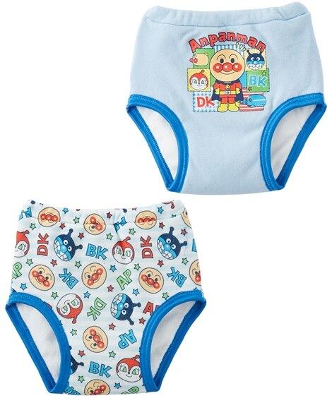 【アンパンマン】4層トレーニングパンツ2枚組(男の子・女の子 ) 【ベビー服】Babywear