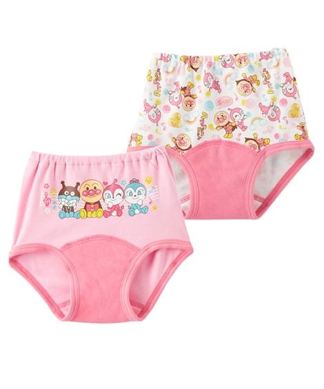 【アンパンマン】おむつはずれ応援パンツ2枚組(男の子・女の子 ) 【ベビー服】Babywear