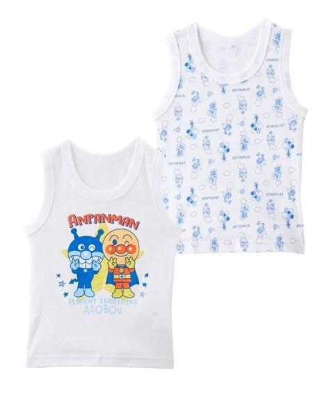 【アンパンマン】コットンフライス 肌着2枚組(ランニング・キャミソール)(男の子・女の子 ) キッズ下着, Kid's Underwear