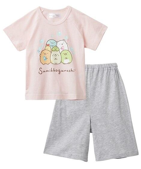【すみっコぐらし】半袖パジャマ(女の子 子供服) キッズパジャマ, Kids' Pajamas