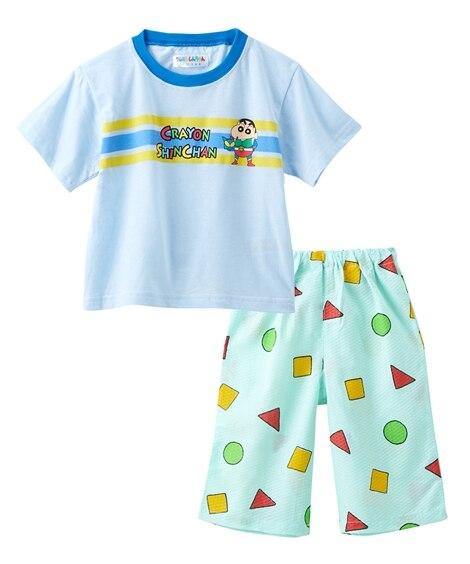 【クレヨンしんちゃん】半袖パジャテコ(半袖Tシャツ+ステテコ)(男の子 女の子 子供服) キッズパジャマ, Kids' Pajamas