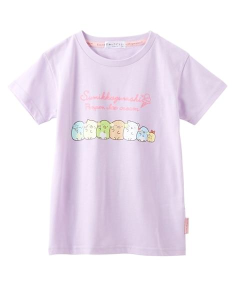【すみっコぐらし】半袖Tシャツ(女の子 子供服 ジュニア服) (Tシャツ・カットソー)Kids' T-shirts