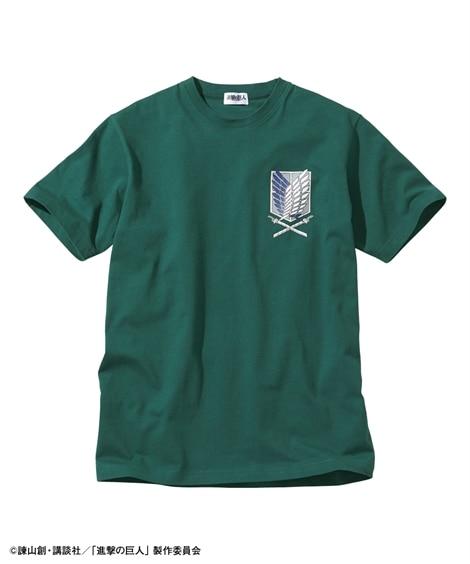 【進撃の巨人】半袖Tシャツ(自由の翼)(Tシャツ・カットソー)02