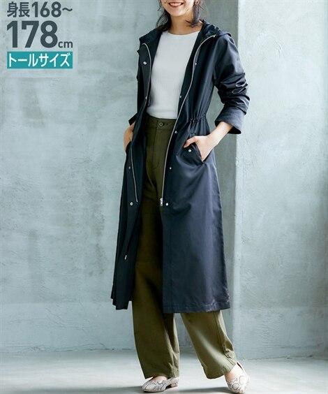 トールサイズ ロング丈モッズコート 【高身長・長身】コート,...
