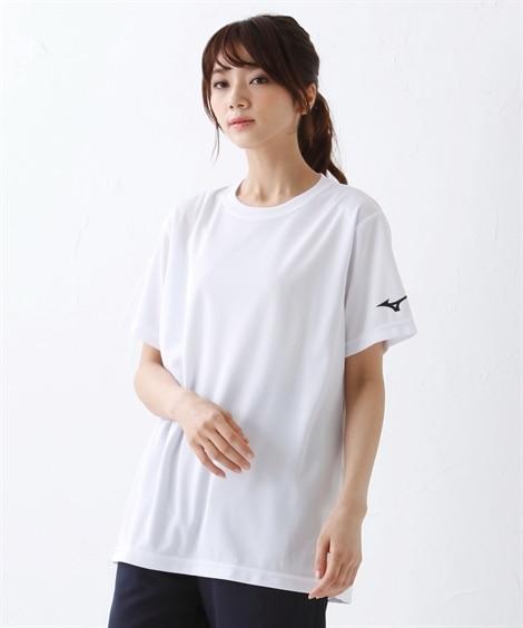 ミズノ Tシャツ 袖RBロゴ(男女兼用) 【レディーススポー...
