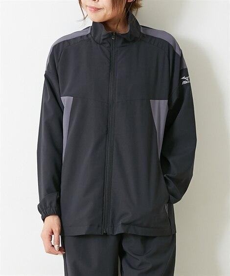 ミズノ K2JC1130 吸汗速乾・UVカット トレーニングクロスジャケット(男女兼用) 【レディーススポーツウェア】Sportswear
