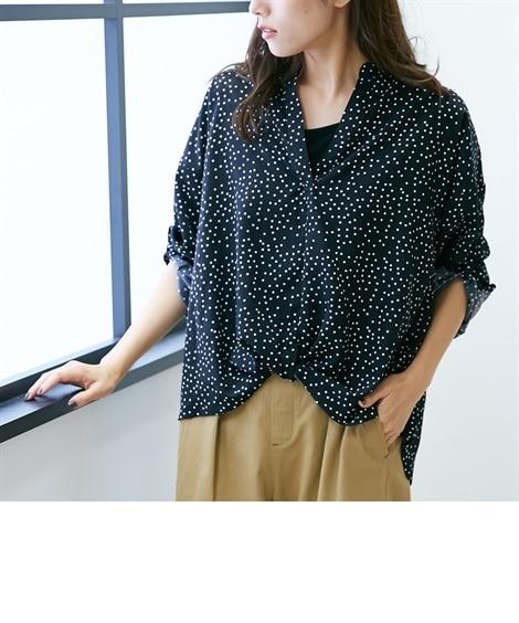 2点セット(裾タックスキッパーシャツ+タンクトップ)