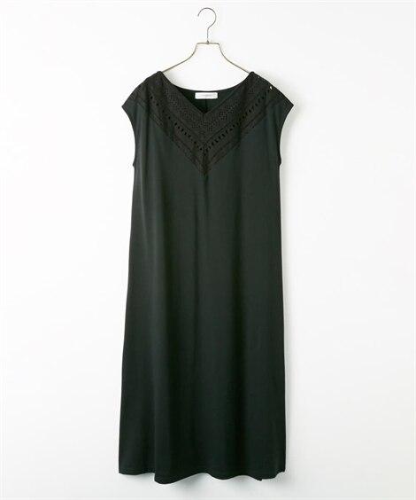前レースカットワンピース (ワンピース),dress...