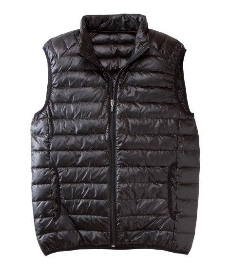 【お買得】軽くて暖かいダウンベスト ベスト, Vest, 背...