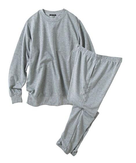 ミニ裏毛ルームウェア上下セット メンズパジャマ...