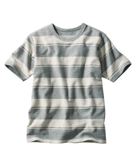 半袖ボーダーTシャツ Tシャツ・カットソー...