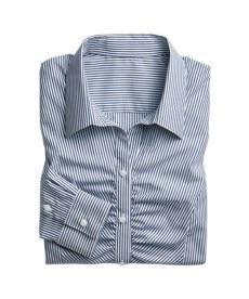 <ニッセン> 綿100%カットドビー衿なしスキッパーブラウス (大きいサイズレディース)ブラウスplus size 18