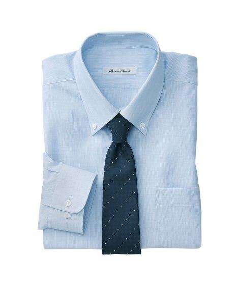 【紳士服】 抗菌防臭。形態安定長袖ワイシャツ(ボタンダウン)...