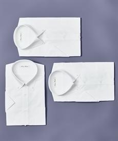 <ニッセン>形態安定ドビー織レギュラーカラーシャツ(レギュラーバスト) シャツ・ブラウス 26
