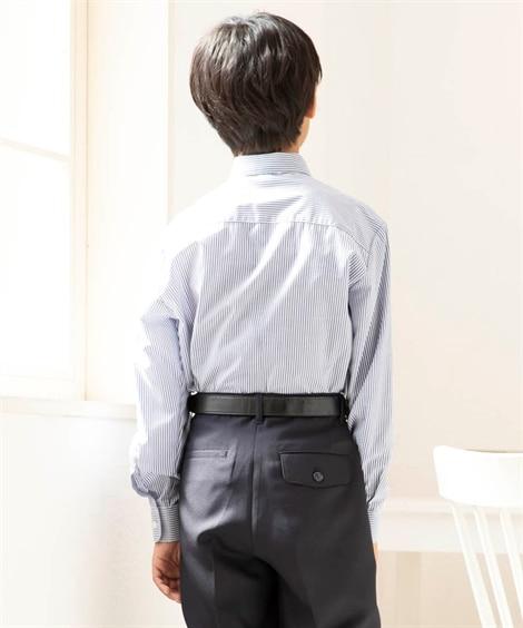 a112c330070d6 ...  卒業式 ネクタイ付シャツ(男の子 子供服 ジュニア服)(フォーマル ...