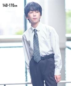 <ニッセン>形態安定ドビー織レギュラーカラーシャツ(レギュラーバスト) シャツ・ブラウス 28