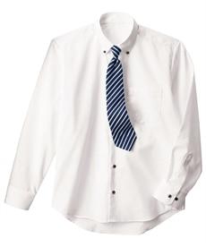 <ニッセン>形態安定ドビー織レギュラーカラーシャツ(レギュラーバスト) シャツ・ブラウス 29