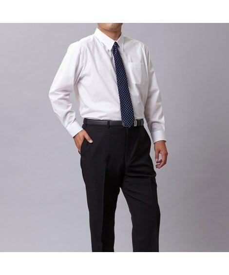 新パターン使用形態安定長袖ワイシャツ(レギュラーカラ―) 大...