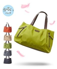 <ニッセン>軽量ナイロントートバッグ(A4対応) トートバッグ・手提げバッグ画像
