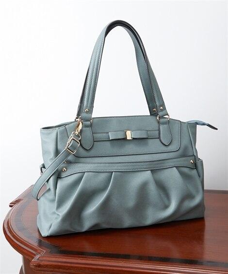10ポケット付2WAYトートバッグ(A4対応) トートバッグ・手提げバッグ, Bags