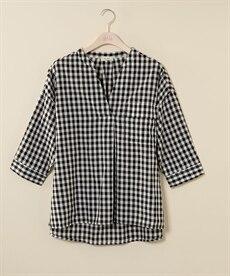 <ニッセン> 防汚加工。吸汗速乾前レース切替ブラウス (ブラウス)Blouses Shirts 16