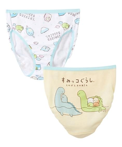 【すみっコぐらし】ショーツ2枚組 キッズ下着, Kid's Underwear