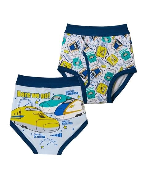 【新幹線】前開きブリーフ2枚組 キッズ下着, Kid's Underwear
