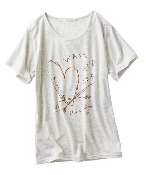 プリントTシャツ (Tシャツ・カットソー)(レディース)
