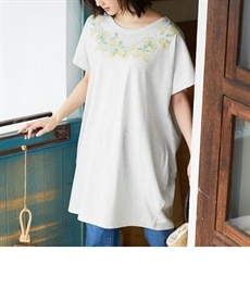 <ニッセン> プリントTシャツ (Tシャツ・カットソー)(レディース)T-shirts 12