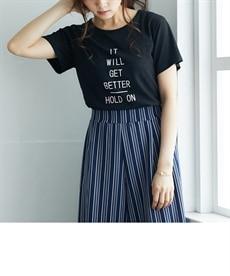 <ニッセン> プリントTシャツ (Tシャツ・カットソー)(レディース)T-shirts 18