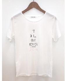 <ニッセン> プリントTシャツ (Tシャツ・カットソー)(レディース)T-shirts 20