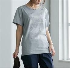 <ニッセン> プリントTシャツ (Tシャツ・カットソー)(レディース)T-shirts 22