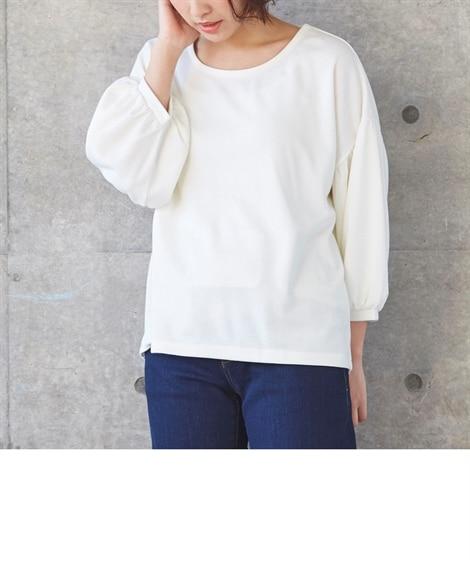 ボリューム袖トップス (Tシャツ・カットソー)(レディース)