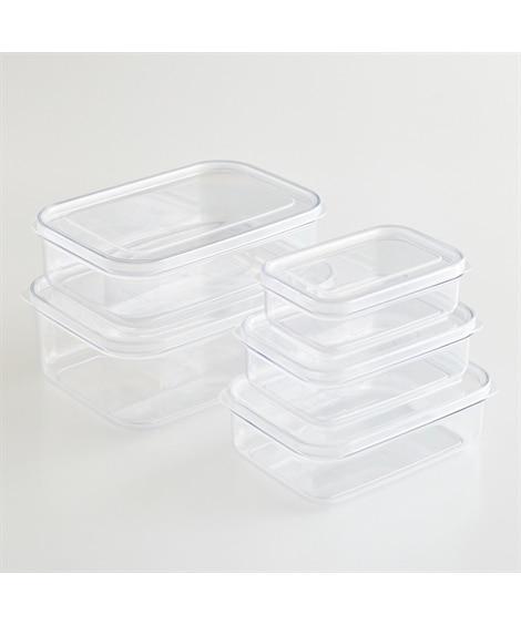 マイクロクリア食品保存容器 2個セット【食洗機対応】【日本製】 食品保存・調味料保存(ニッセン、nissen)