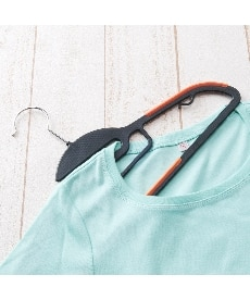 <ニッセン>洗濯にも使える すべりにくいハンガー10本組 衣類ハンガー画像